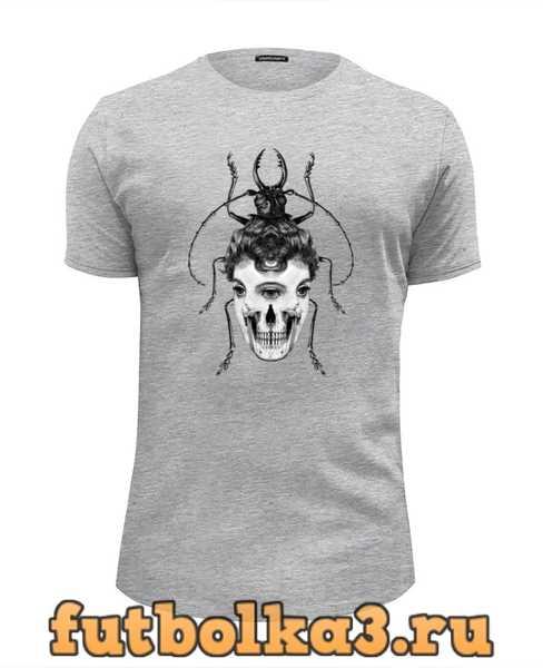 Футболка Skull Beetle мужская