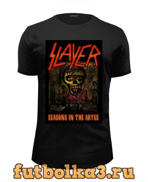 Футболка Slayer-Season In The Abyss 1990 мужская