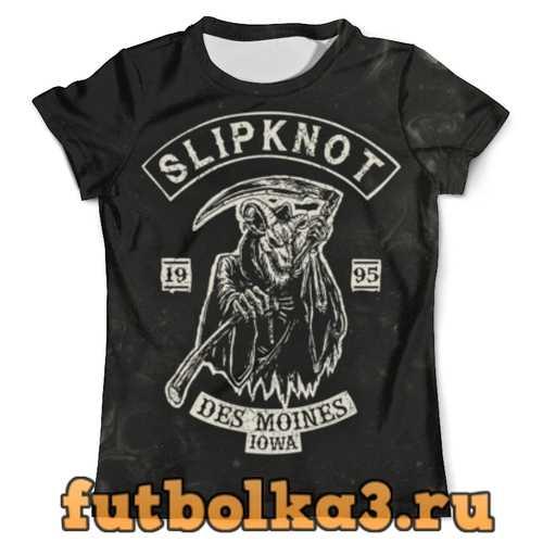 Футболка Slipknot мужская