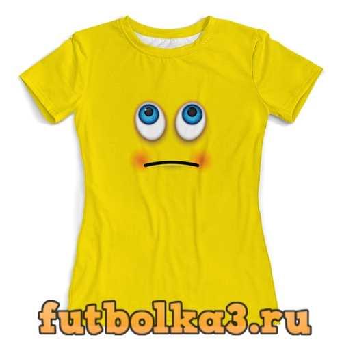 Футболка smile женская