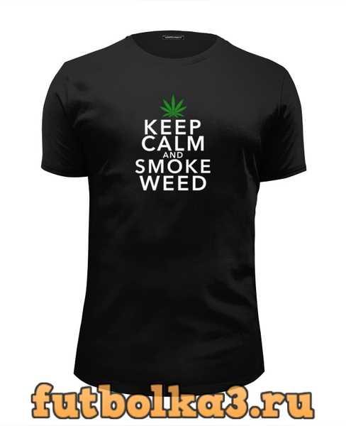 Футболка Smoke Marijuana мужская