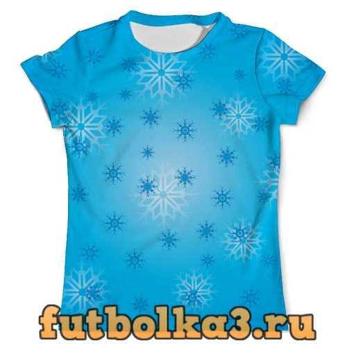 Футболка Снежинка мужская