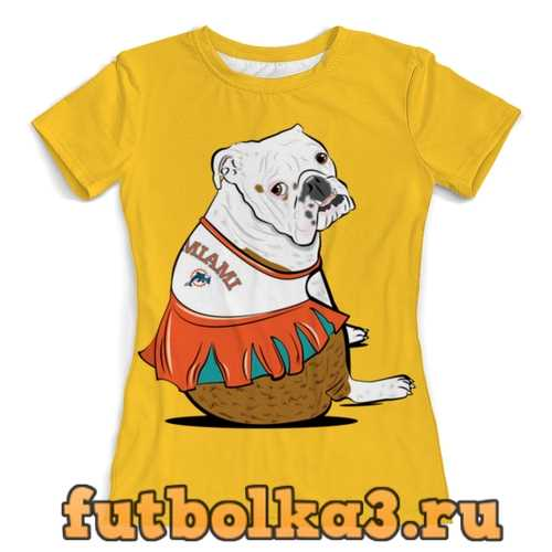 Футболка Собачка на отдыхе женская
