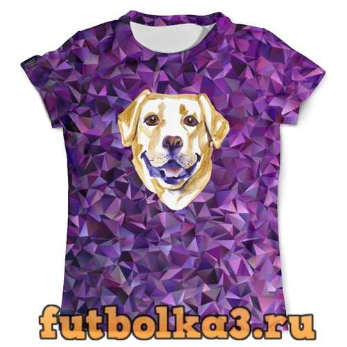 Футболка Собака мужская