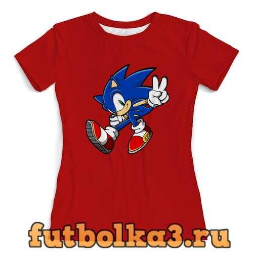 Футболка Sonic женская