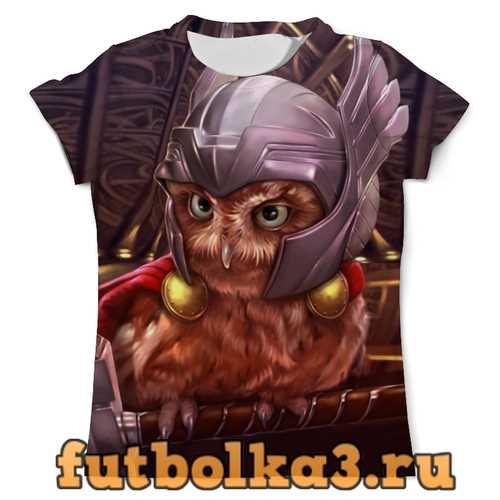 Футболка Сова Тор мужская