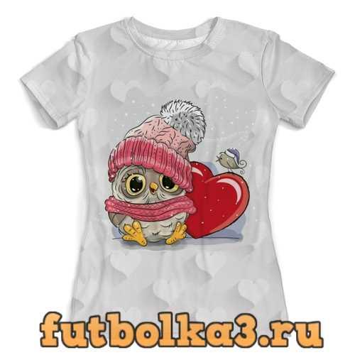 Футболка Совенок женская