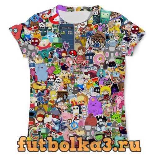 Футболка Stickers boom_ARSB мужская