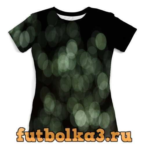Футболка Световые блики женская