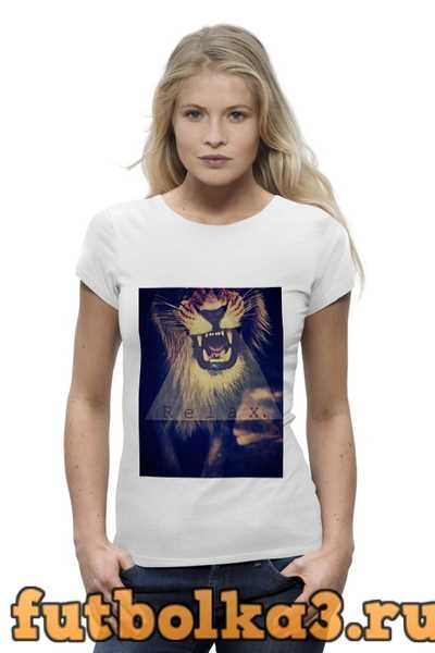 Футболка Swag тигра женская