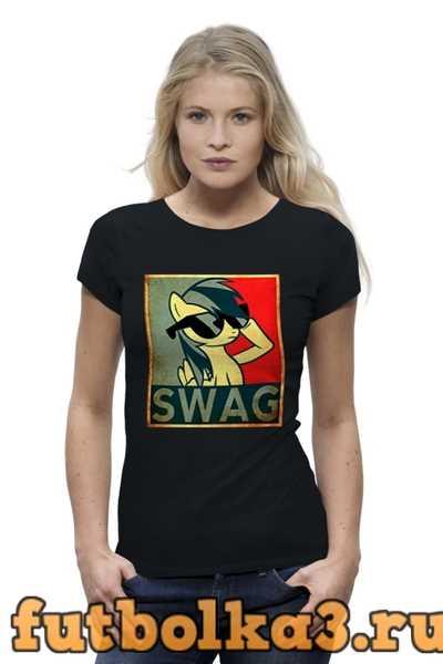 Футболка Swag женская