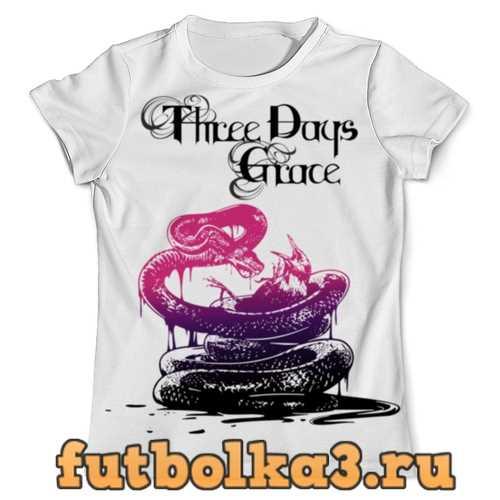 Футболка Three Days Grace мужская