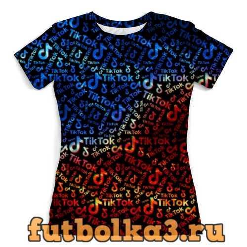 Футболка Tik Tok женская