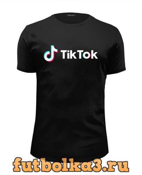 Футболка TikTok мужская