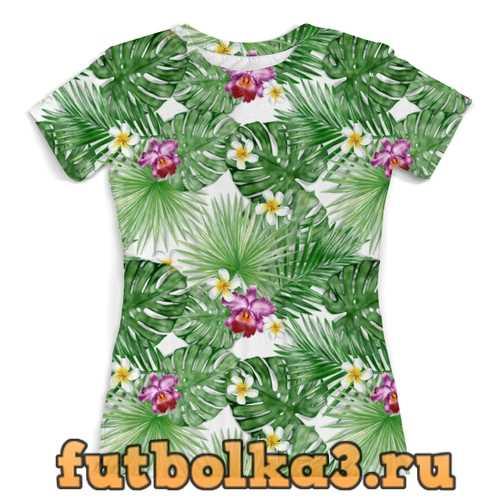 Футболка тропики женская
