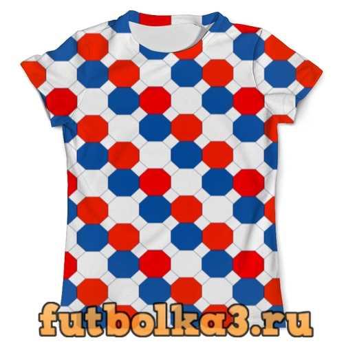 Футболка Цветные соты мужская