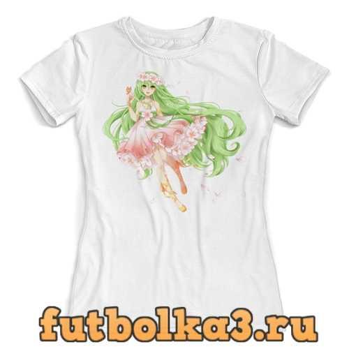 Футболка Цветочная фея. женская