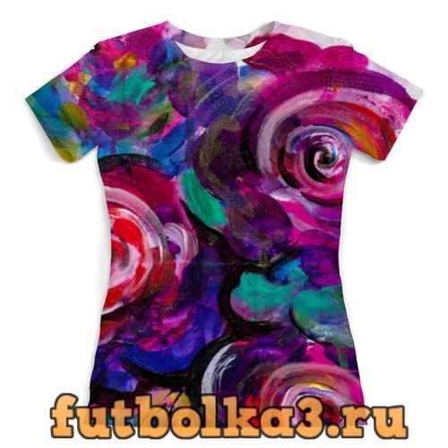Футболка Цветочная провокация женская
