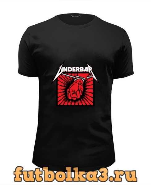 Футболка Underbar black t-shirt мужская