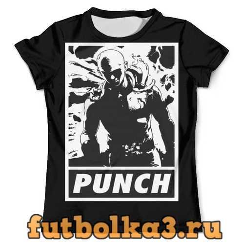 Футболка Ванпачмен (one punch man) мужская