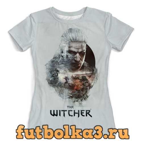 Футболка Ведьмак(Геральд) женская