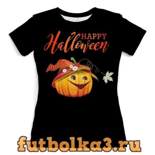 Футболка Веселая тыквочка (1) женская