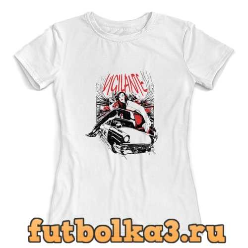 Футболка vigilante женская