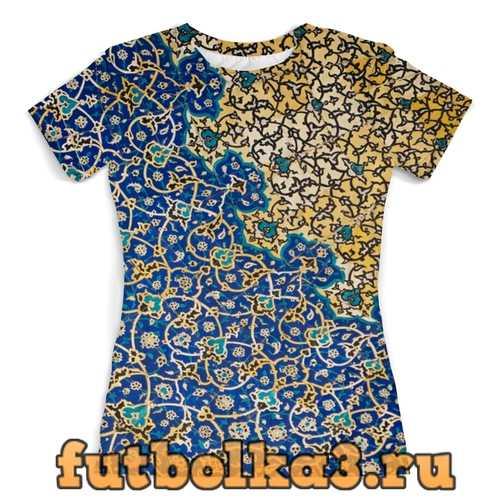 Футболка Восточное лето женская