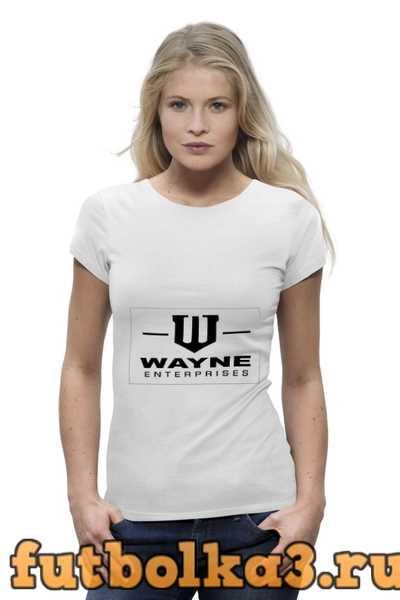 Футболка Wayne Enterprises женская