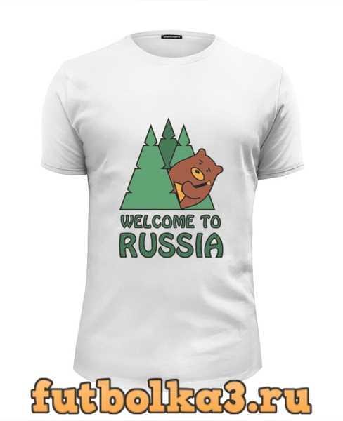 Футболка Welcome to Russia мужская