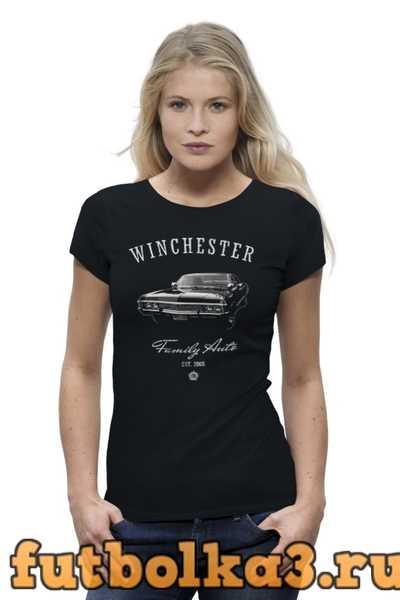 Футболка Winchester Family Auto женская