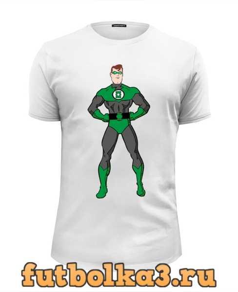 Футболка Зеленый Фонарь (Green Lantern) мужская