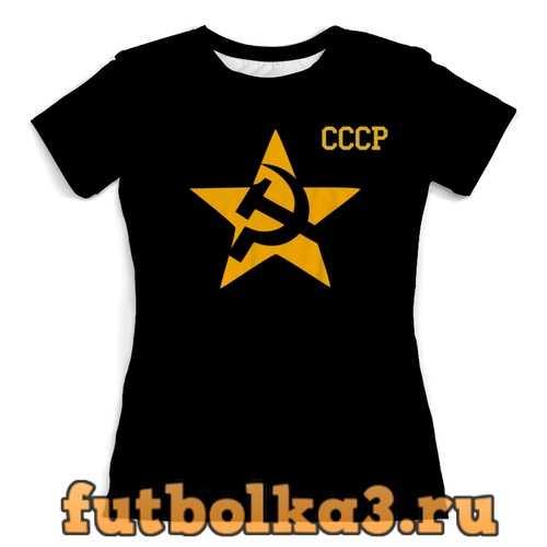 Футболка Знак СССР женская