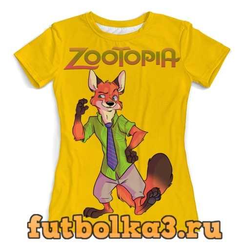 Футболка Zootopia женская