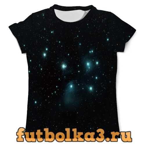 Футболка Звездное скопление мужская