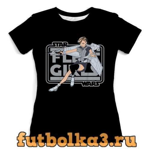 Футболка Звёздные войны (star wars) женская