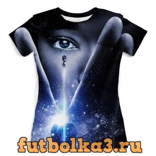 Футболка Звёздный путь / Star Trek женская
