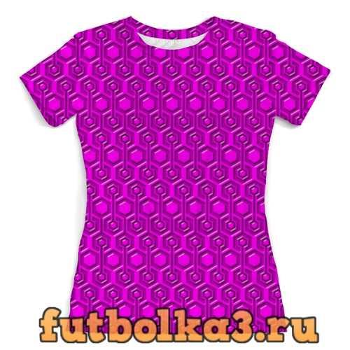 Футболка Abatract 3D женская
