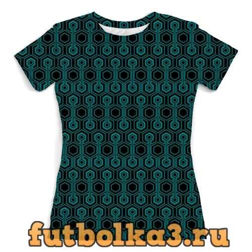 Футболка Abatraction женская