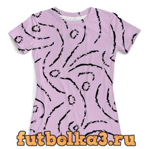 Футболка Abstra женская