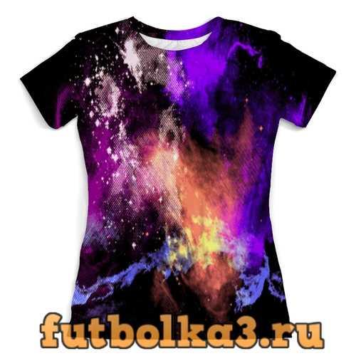 Футболка Абстракция красок женская
