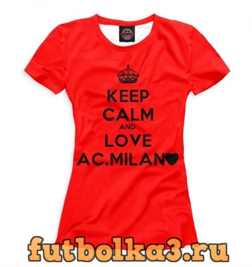 Футболка AC Milan женская