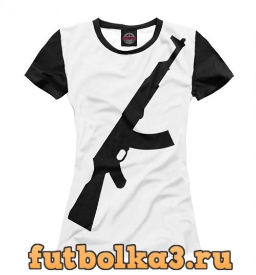 Футболка $AK-47$ женская