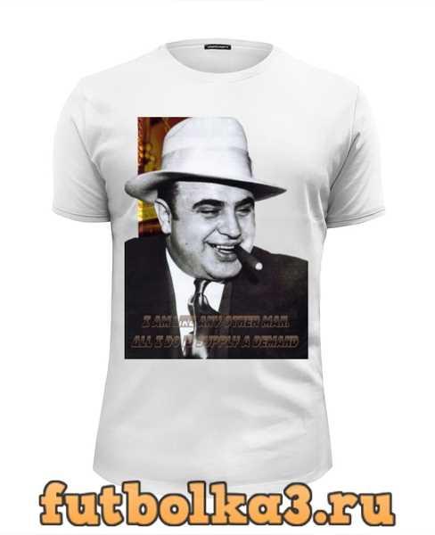 Футболка Аль Капоне мужская