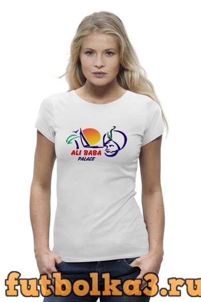 Футболка ALI BABA женская