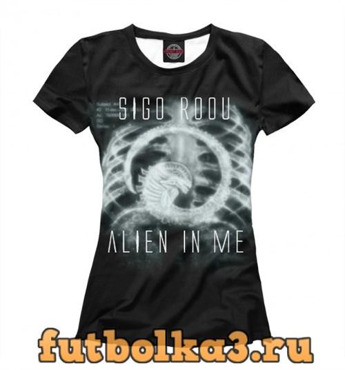 Футболка Alien женская