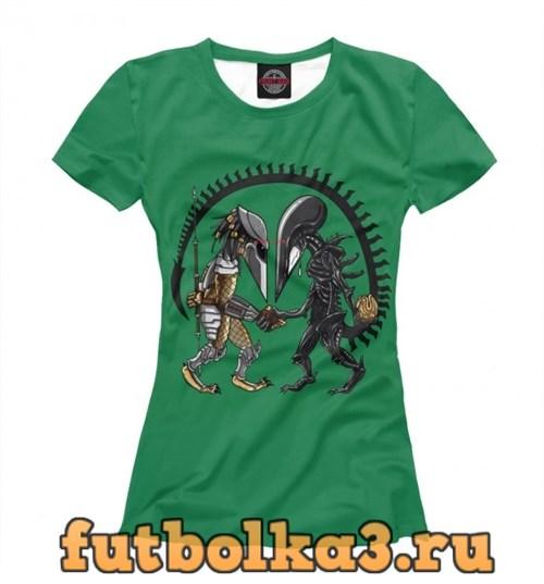 Футболка Alien vs Predator женская