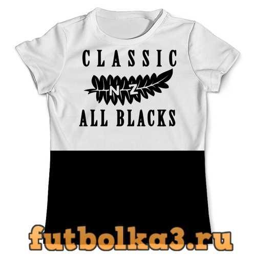 Футболка All Blacks vintage мужская