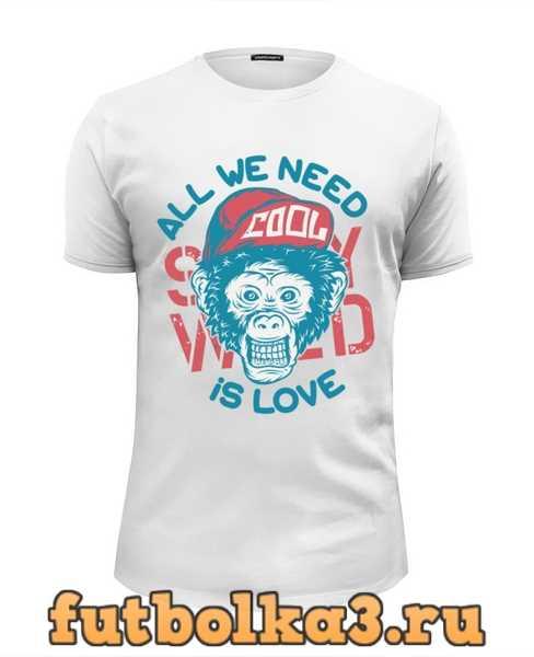 Футболка All We Need is Love мужская