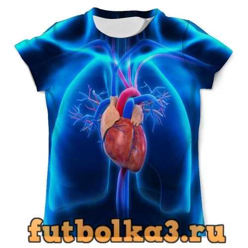 Футболка Анатомия мужская